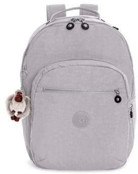 Kipling Seoul Large Laptop Backpack - SLATE GREY - STYLE