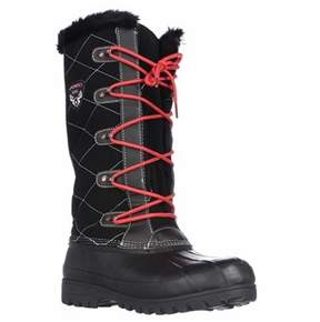 Sporto Connie Tall Water Resistant Winter Boots, Black.