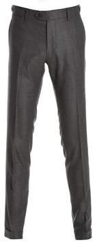 Berwich Men's Grey/brown Wool Pants.