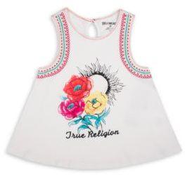 True Religion Toddler's, Little Girl's & Girl's Floral-Print Top