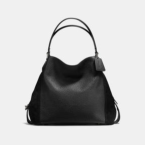 COACH Coach Edie Shoulder Bag 42 - DARK GUNMETAL/BLACK - STYLE
