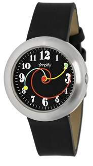 Simplify The 2700 Black Watch.