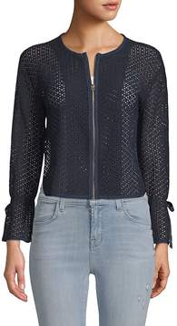 Ellen Tracy Women's Textured Short Jacket
