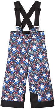 Spyder Captain America Marvel Propulsion Kids Ski Salopettes