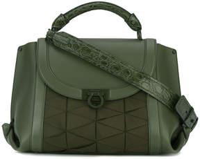 Salvatore Ferragamo foldover satchel bag
