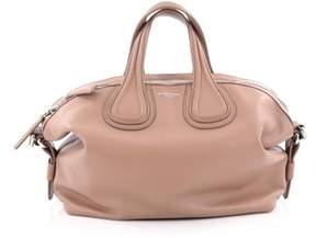 Givenchy Pre-owned: Nightingale Satchel Waxed Leather Small.