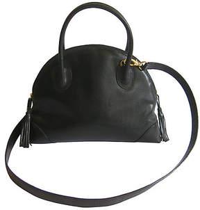 One Kings Lane Vintage Bottega Veneta Leather Cross-Body Bag
