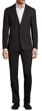Ralph Lauren Nigel Two-Button Striped Wool Suit