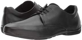 Emporio Armani Soft Leather Plain Toe Oxford Men's Lace up casual Shoes