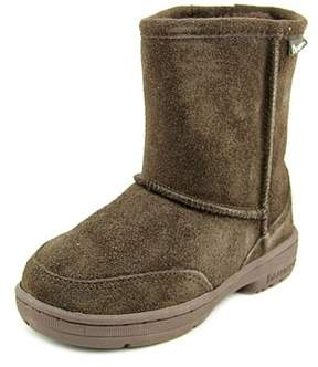 BearPaw Meadow Toddler Round Toe Suede Snow Boot.