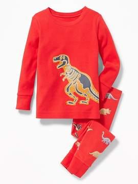 Old Navy Dinosaur-Bones Sleep Set for Toddler & Baby