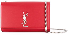 Saint Laurent classic medium Kate satchel - RED - STYLE