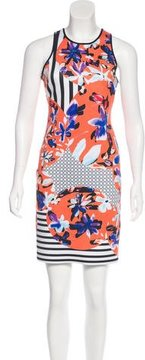 Clover Canyon Digital Print Mini Dress