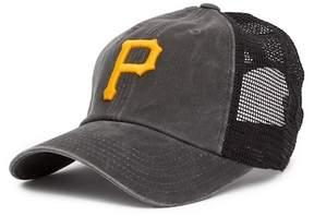 American Needle Pittsburgh Pirates Raglan Bones Mesh Baseball Cap