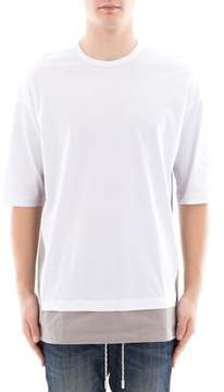 Diesel Black Gold Men's White Cotton T-shirt.