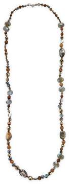 Chan Luu Women's Sterling Silver & Semi-Precious Stone Necklace