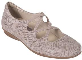 Earth Clare Printed Suede Flats