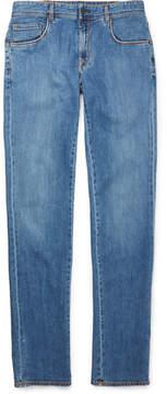 Boglioli Slim-Fit Washed-Denim Jeans