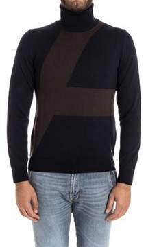 Alessandro Dell'Acqua Men's Blue Wool Sweater.