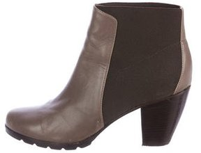 Walter Steiger Leather Round-Toe Ankle Boots