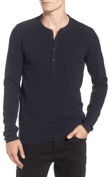BOSS ORANGE Men's Topsider Thermal Henley
