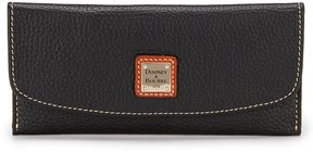 Dooney & Bourke Pebble Collection Slim Continental Clutch - BLACK - STYLE