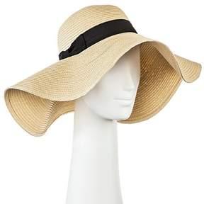 Merona Women's Oversized Floppy Straw Hat Tan