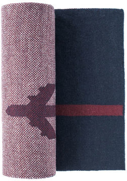 Johnston & Murphy Airplane Stripe Scarf
