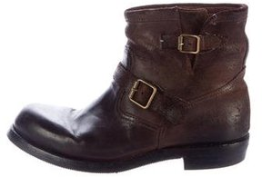 Ralph Lauren Distressed Ankle Boots