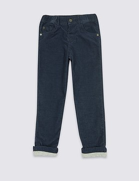 Marks and Spencer Cotton Rich Cord Trousers (3 Months - 6 Years)