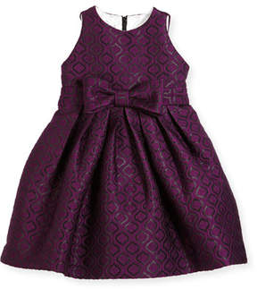 Helena Geo Jacquard Dress, Size 7-14