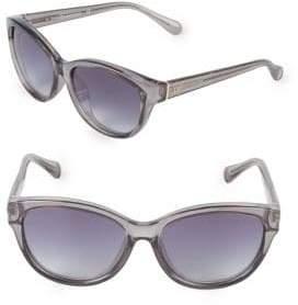 Diane von Furstenberg 57MM Smoke Butterfly Sunglasses
