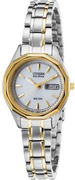 Citizen Womens Silhouette Sport Solar Two-Tone Stainless Steel Watch