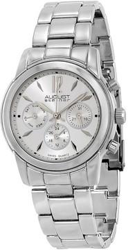 August Steiner Silver-Tone Ladies Watch