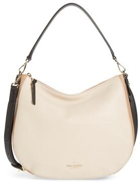 Kate Spade Jackson Street Mylie Leather Hobo - White - WHITE - STYLE