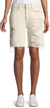 Levi's Drifter Distressed Denim Shorts