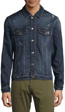 Joe's Jeans Men's Distressed Denim Jacket
