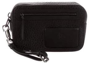 Christian Louboutin Embossed Leather Clutch