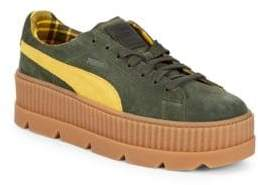 Puma Cleated Creeper Suede Platform Sneakers