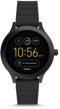 Fossil Gen 3 Smartwatch - Q Venture Black Silicone