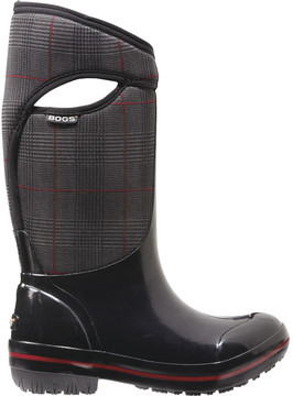 Bogs Plimsoll Prince Of Wales Tall Boot