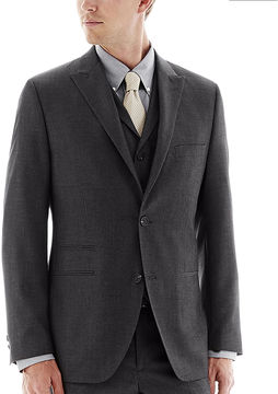 JCPenney THE SAVILE ROW CO The Savile Row Company Charcoal Suit Jacket - Slim
