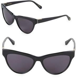 Zac Posen Women's Farrow 55MM Butterfly Sunglasses