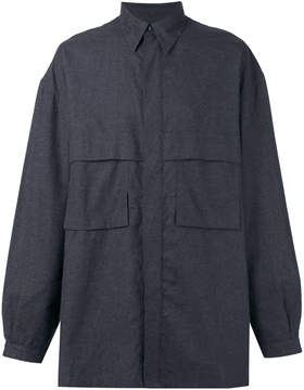 E. Tautz flap pockets shirt