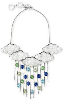 Forest of Chintz Silver lining 5 clouds Necklace