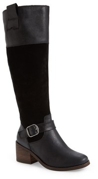 Lucky Brand Women's Kailan Ankle Strap Tall Boot