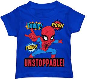 Marvel Toddler Boy Spider-Man Unstoppable! Graphic Tee