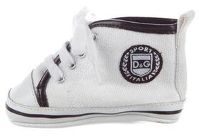 Dolce & Gabbana Boys' High-Top Crib Shoes