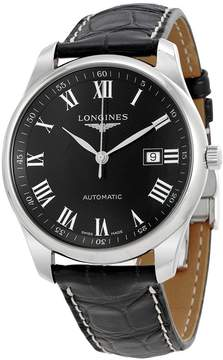 Longines Master Automatic Black Dial Men's Watch