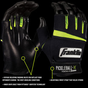 Asstd National Brand Pickleball-X Performance Glove-Adult
